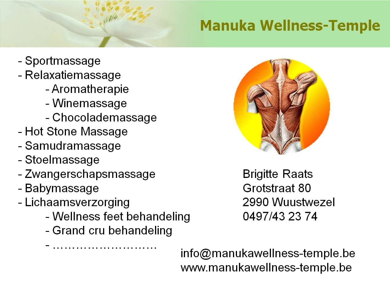 Manuka Wellness-Temple