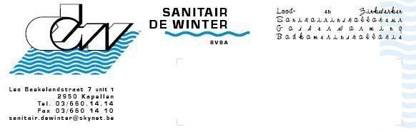 De Winter Sanitair Bvba