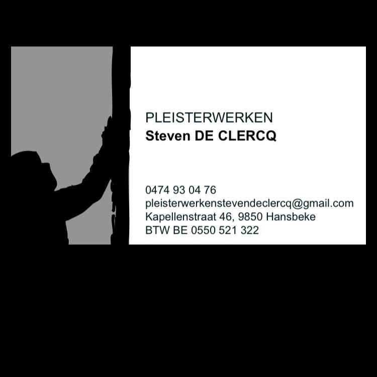Pleisterwerken Steven De Clercq